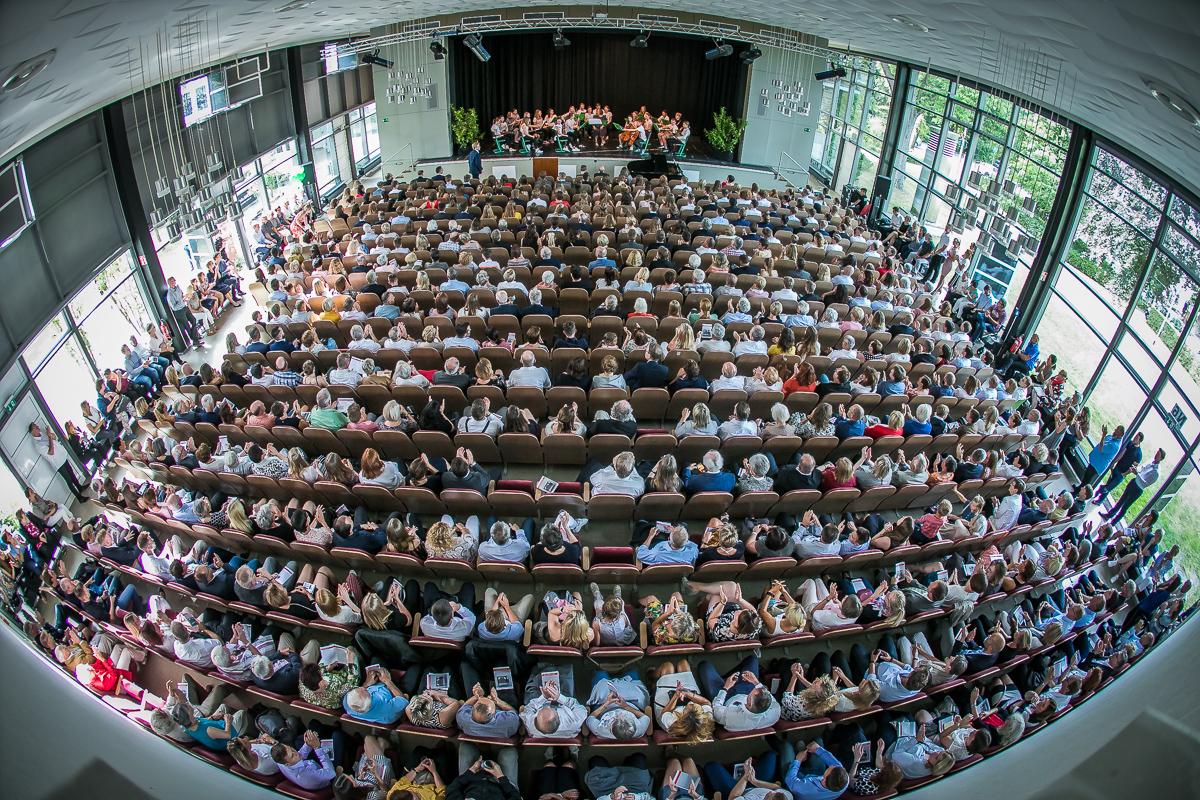 Aula des Ratsgymnasiums